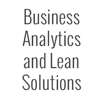 Business Analytics and Lean Solutions