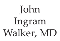 John Ingram Walker, MD